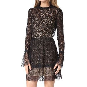 SAYLOR never been worn long sleeve lace dress